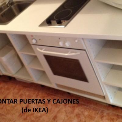 Montar muebles de cocina de ikea y tapar agujeros en for Montar muebles de cocina