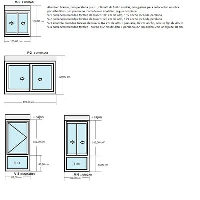 Cambio de ventanas de aluminio zaragoza zaragoza - Presupuesto cambio ventanas ...