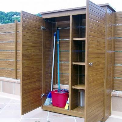 armario exterior en madera sant cugat del vall s