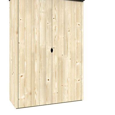 Armario madera exterior balcon tipo caseta cerdanyola for Armario para balcon exterior