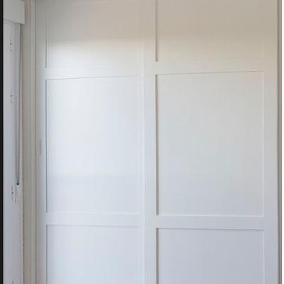 Presupuesto armario empotrado interior 2 puertas lacado for Presupuesto puertas interior