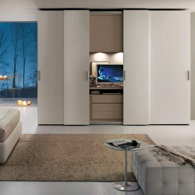 Armario de habitaci n con m dulo de tv empotrado madrid madrid habitissimo - Porta televisore ikea ...