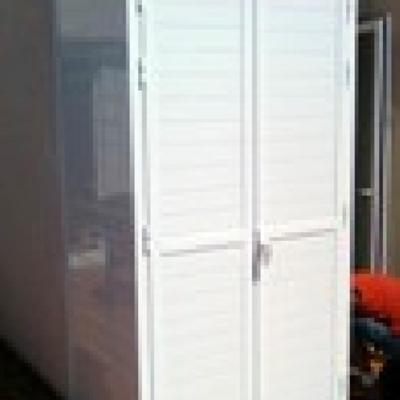 Hacer armario de aluminio para exterior piedras blancas - Armario pvc exterior ...
