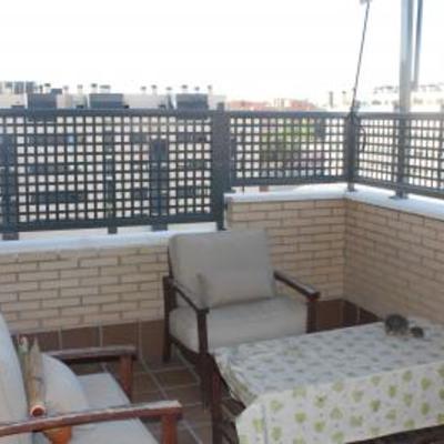 Celosia aluminio terraza burjassot burjassot valencia - Celosia de aluminio ...