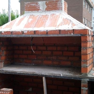 Construir paellero barbacoa en una terraza grao de sagunto valencia habitissimo - Barbacoa paellero ...