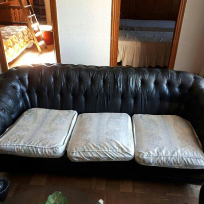 Tapizar sof chester m s dos sillones individuales - Tapizar sofas precios ...