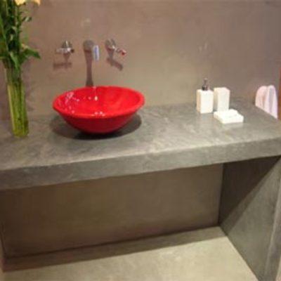 Encimera de cemento pulido castronuevo de esgueva valladolid habitissimo - Precio metro cuadrado microcemento ...