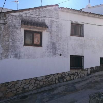 Fachada casa de pueblo limpiar y pintar pueblo bolbaite - Casas de pueblo en valencia ...
