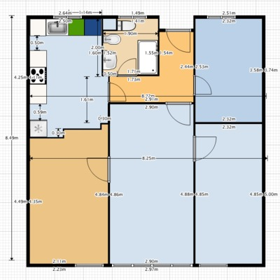 Reforma integral piso 70 m2 cocina ba o 3 dormitorios y for Precio reforma integral piso 80 metros madrid