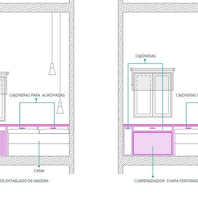 Dos muebles a medida: armario y cabecero con almacenamiento - Madrid ...