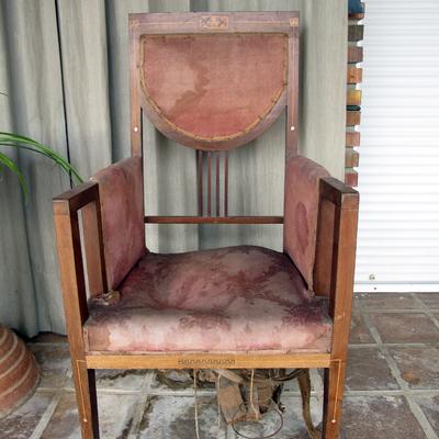Tapizar 6 sillas antiguas y una butaca almacelles - Presupuesto tapizar sillas ...