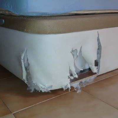 Reparar tapizado en canap de polipiel villa de vallecas for Reparar sofa polipiel