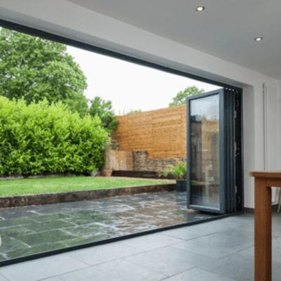 Puertas plegables de 5 metros para acceso a terraza as - Puertas para terrazas ...