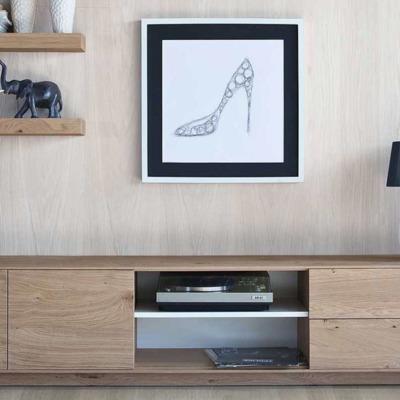 Mueble tv estilo n rdico monte del pilar majadahonda for Mueble tv estilo nordico
