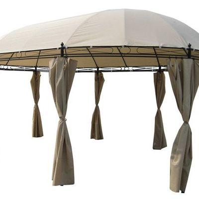 Toldo 100 impermeable para cenador ovalado carrefour for Carpas jardin carrefour