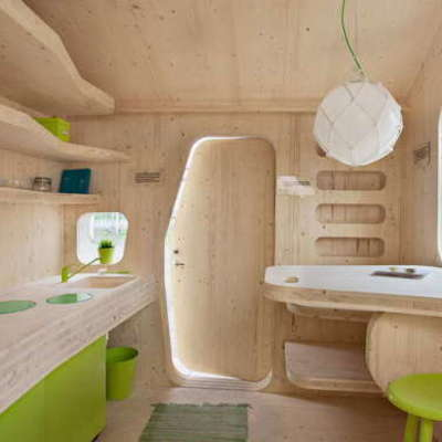 Construcci n mini casa madera barranco guiniguada las - Casas prefabricadas en las palmas ...