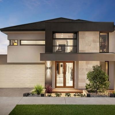 Proyecto vivienda unifamiliar solar 300m2 ajofrin for Villette moderne esterno