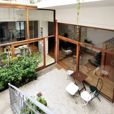 Reformar casa adosada con patio interior sabadell for Casas con patio interior