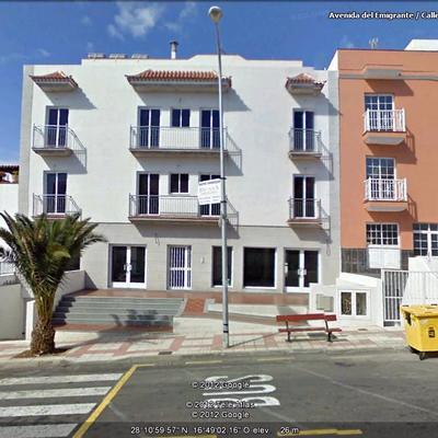 Pintar fachada de peque o edificio alcala santa cruz de tenerife habitissimo - Apartamentos en playa san juan tenerife ...