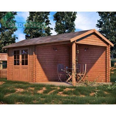 Caseta de jardin con bloque de hormigon bilbao vizcaya for Construir caseta jardin