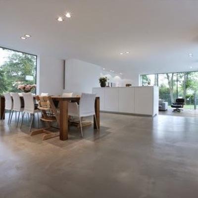Poner hormig n pulido en suelo de 60 metros cuadrados - Hormigon pulido para interiores ...