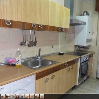 Cambiar muebles de cocina y cambiar los azulejos que hay - Cambiar encimera cocina sin obras ...