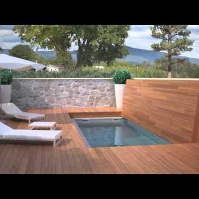 Construccion de piscina con cubierta pisable bulevar del for Construccion piscinas valencia