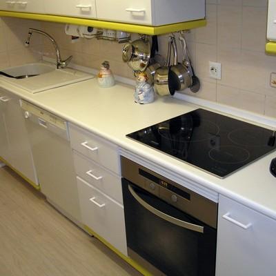 Cambiar encimera y fregadero de cocina madrid madrid for Cambiar color encimera granito