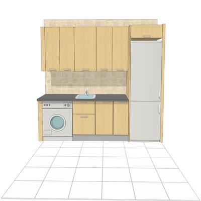 Muebles cocina tipo kit encimera getafe madrid for Muebles de cocina en kit madrid