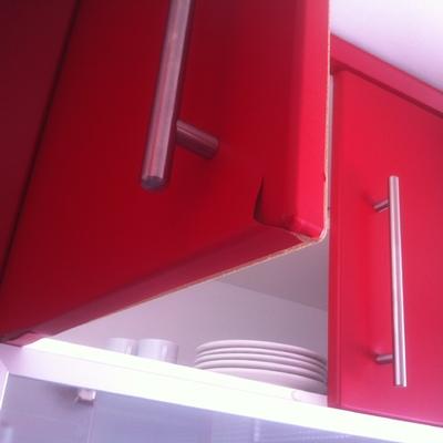 Forrar con láminas de pvc algunos muebles de cocina - Hortaleza ...