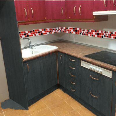 Lacado pintado muebles de cocina albacete albacete - Muebles de cocina albacete ...