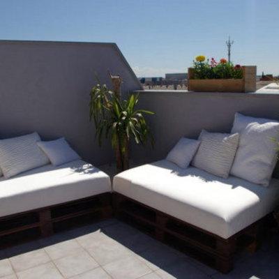 Tapizar cojines para sofa exterior en forma de l - Cojines muebles exterior ...