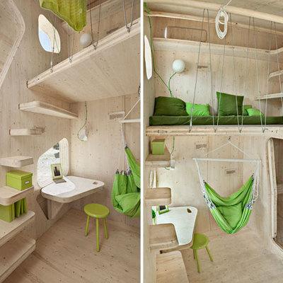 Construcci n mini casa madera barranco guiniguada las - Casas de madera gran canaria ...