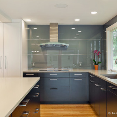 suministrar y montar frente de cocina cristal templado