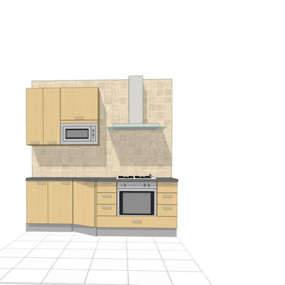 Muebles cocina tipo kit + encimera - Getafe (Madrid) | Habitissimo