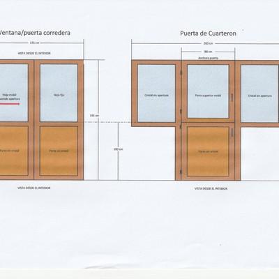 Cambiar carpinter a pvc cue asturias habitissimo for Precio carpinteria pvc