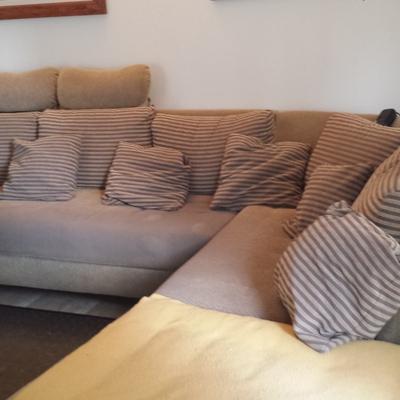 Tapizar un sof rinconero o chaise longe terrassa - Tapizar sofa barcelona ...