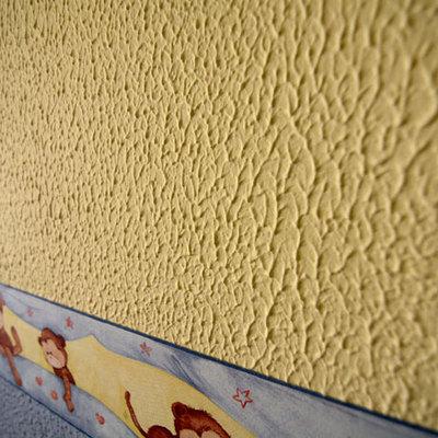 Quitar gotel de paredes de habitaci n techo no coia - Quitar gotele precio ...