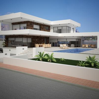 Construir una casa nueva en terreno plano bolerias - Construir una casa precio ...