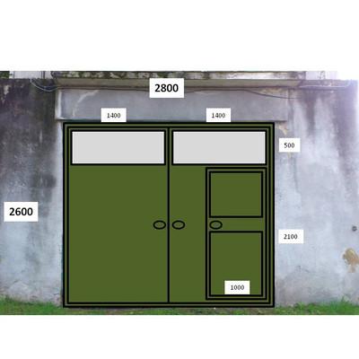 Reformar puerta de garaje lasarte oria guip zcoa for Reformar puertas