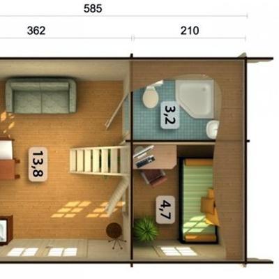 Construir casa prefabricada de madera san crist bal de - Casas prefabricadas en tenerife ...