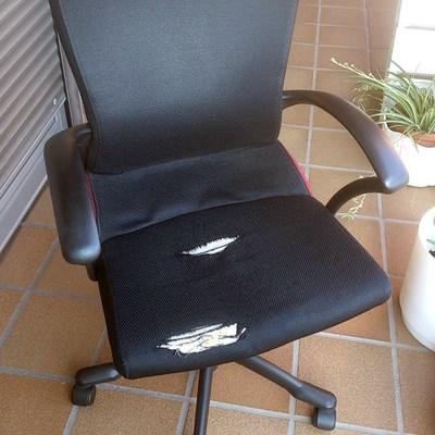 Tapizar silla tipo oficina - Pamplona - Iruña (Navarra) | Habitissimo