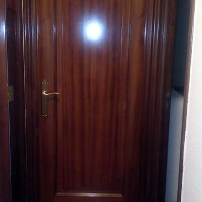 Esmaltar o lacar puertas en blanco ourense ourense for Lacar puertas en blanco