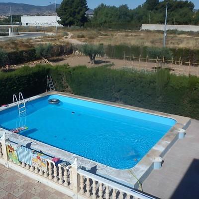 Impermeibilizacion piscina de l mina armada o liner elda for Lamina armada para piscinas precios