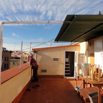 Cubrir terraza de tico madrid madrid habitissimo - Cubrir terraza atico ...