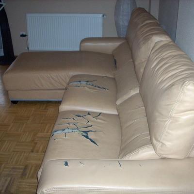Tapizar sof de 3 plazas y chaise longue alcal de - Precio tapizar sofa ...
