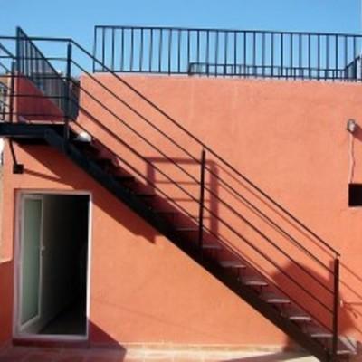 Escalera met lica exterior de altura 3 m estepona - Escalera metalica exterior ...