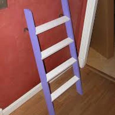 Escalera para cama alta nido dormitorio infantil - Escaleras para camas altas ...