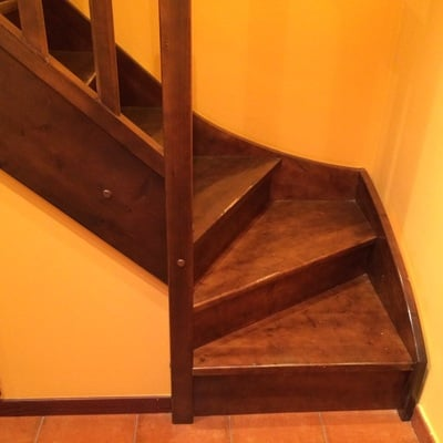 Portillas para duplex colocacion de dos cancelas tipo - Precio escaleras de madera ...