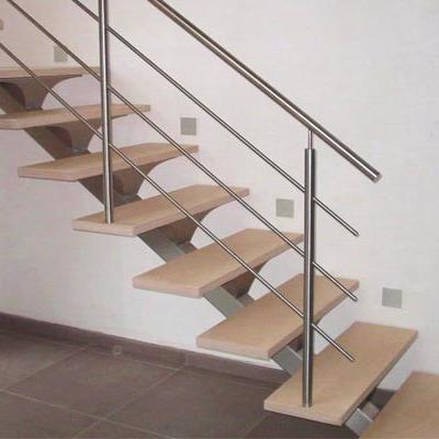 Hacer escalera de madera affordable cunto costara hacer una barandilla de pladur with hacer - Fabricar escalera de madera ...